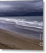 Inch Beach Co Kerry Ireland Metal Print by Dick Wood