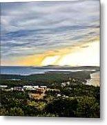 Incoming Storm Over Losinj Island Metal Print