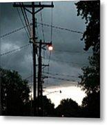 Incoming Storms Metal Print