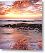 Incredible Sunset Metal Print