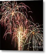 Independence Day Fireworks Metal Print