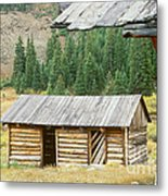 Independence Ghost Town Metal Print