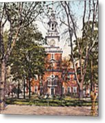 Independence Hall 1900 Metal Print