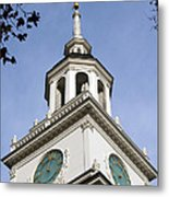 Independence Hall Bell Tower Metal Print