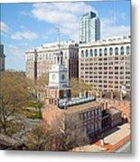 Independence Hall Philadelphia Metal Print by Kay Pickens