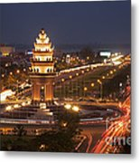 Independence Monument, Cambodia Metal Print