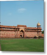 India, Agra The Red Fort Of Agra This Metal Print