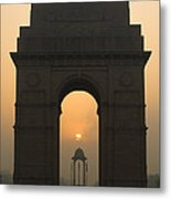 India Gate, Delhi Metal Print