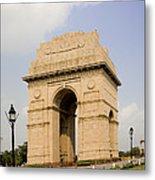 India Gate, New Delhi, India Metal Print
