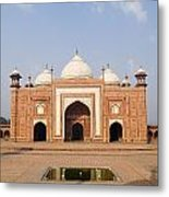 India, Next To Taj Mahal Agra, Taj Metal Print