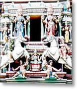 India Religion Metal Print