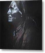 Indian Apache II  Metal Print