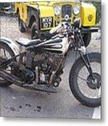 Indian Bike Metal Print