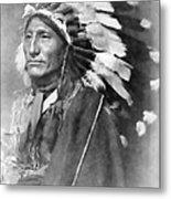 Indian Chief - 1902 Metal Print