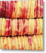 Indian Fabric Metal Print