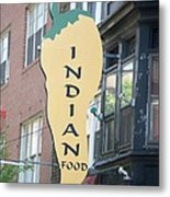 Indian Food Metal Print