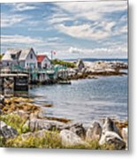 Indian Harbour Metal Print by Gene Healy