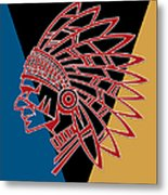 Indian Head Series 01 Metal Print