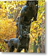 Indian Hunter Metal Print