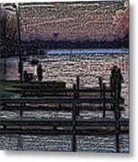 Indian Lake Evening Metal Print