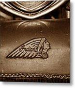 Indian Motorcycles Metal Print