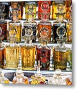 Indian Perfume Bottles Metal Print