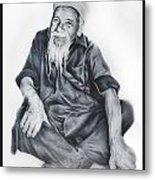 Indian Priest Metal Print