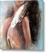 Indian Princess Metal Print
