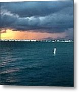 Indian River Lagoon Florida Storm Metal Print