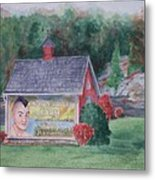 Indian Valley Farm Metal Print