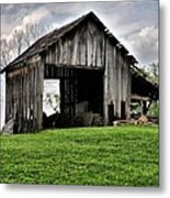 Indiana Barn Metal Print