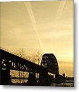 Indiana Ky Bridge Metal Print by Off The Beaten Path Photography - Andrew Alexander