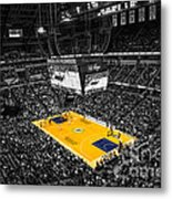 Indiana Pacers Special Metal Print by David Haskett