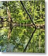 Indiana Reflections Metal Print