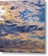 Indiana Sky Metal Print