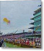 Indianapolis 500 May 2013 Balloons Race Start Metal Print