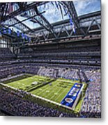 Indianapolis Colts 3 Metal Print by David Haskett