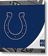 Indianapolis Colts Metal Print