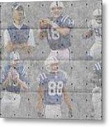 Indianapolis Colts Legends Metal Print