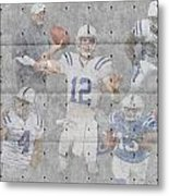 Indianapolis Colts Team Metal Print