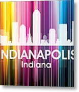 Indianapolis In 2 Metal Print