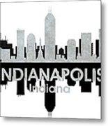Indianapolis In 4 Metal Print