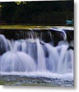 Indianhead Dam - Montgomery County Pa. Metal Print