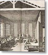 Indigo Dye Factory, 18th Century Metal Print