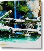 Indoor Nature Metal Print