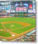 Indoors At Chase Field Metal Print