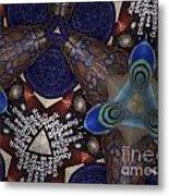 Indra's Web Metal Print