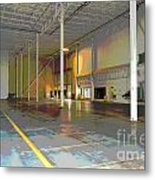Industrial 2 Metal Print