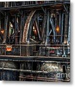 Industrial 4 Metal Print