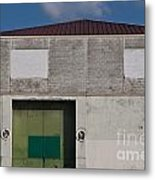 Industrial Building Metal Print